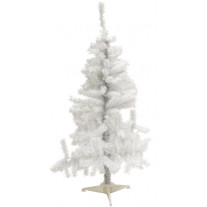 Sapin artificiel blanc 90cm irisé