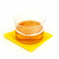Serviette en papier Cocktail Jaune
