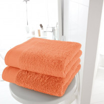 Serviette de Toilette Orange 50x90cm
