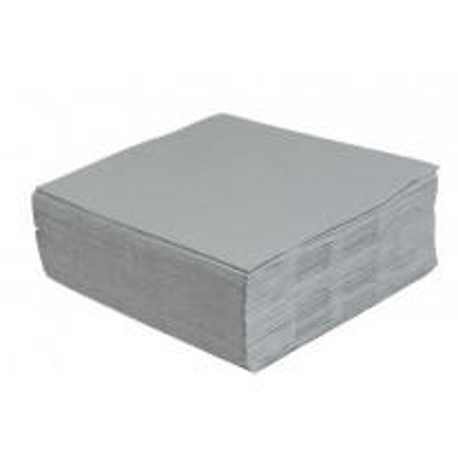 Serviette en papier Grise 38 x 38 cm x 40 pièces