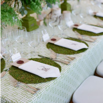 Set de table mariage Vegetal 35cm