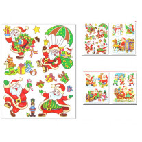 Stickers noel pas cher stickers vitrine noel badaboum for Sticker fenetre noel