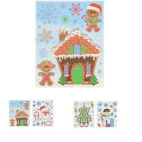 Sticker Vitro statique Noel Enfant
