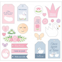Stickers Puffies XL Lovely Swan