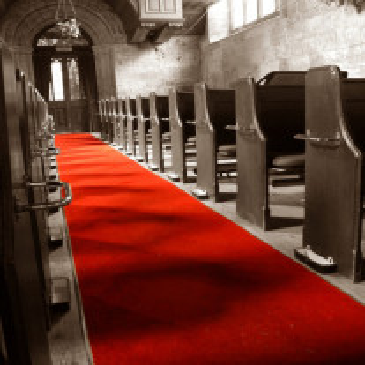 Tapis d'Eglise Rouge 5 m pour Mariage