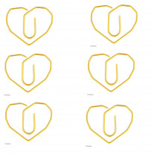Trombones Coeurs Dorés