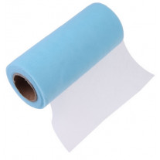 Tulle mariage 15cm Bleu ciel