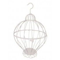 Urne cage Montgolfiere Blanche