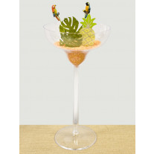 Vase Coupe champagne en plastique 48cm