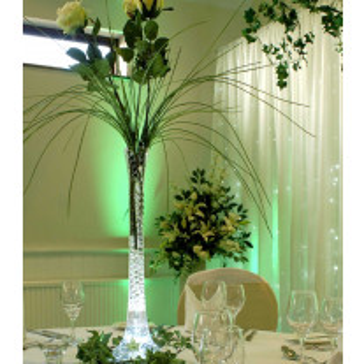 Vase soliflore mariage 80cm