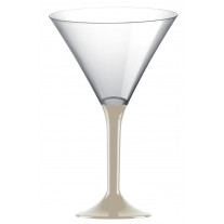 Verre à cocktail en plastique Taupe